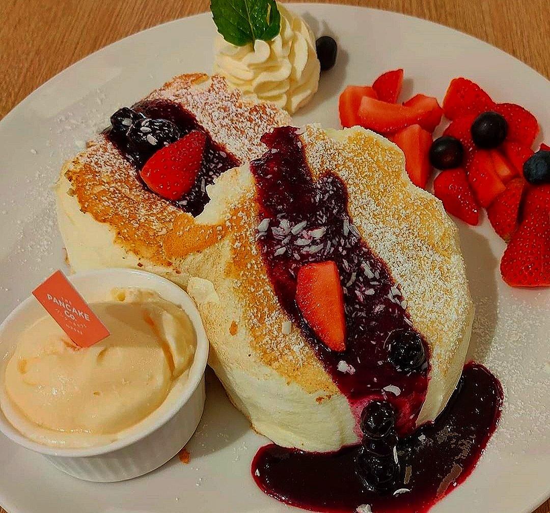 Winter Berry Souffle