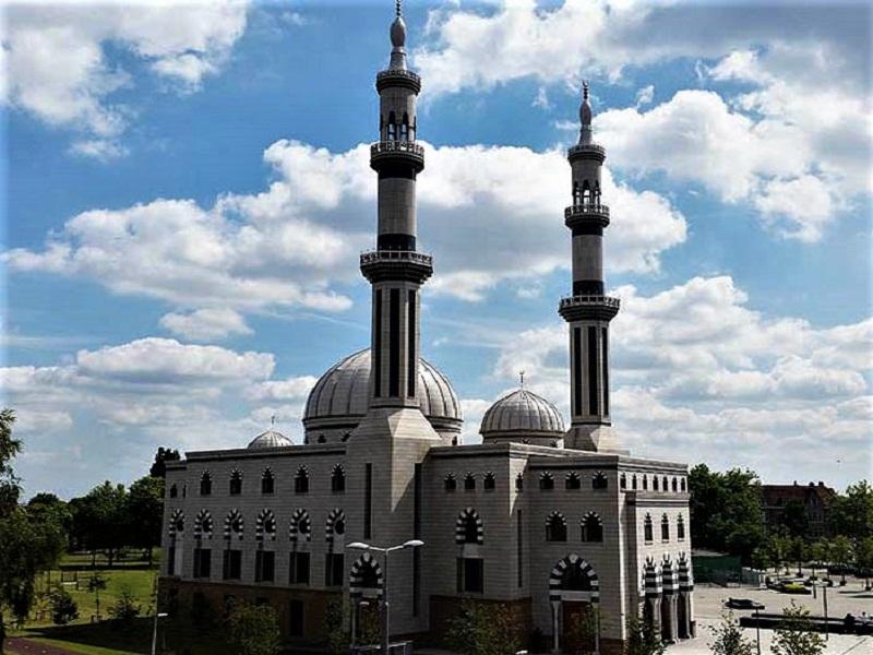 Belanda, masjid essalam Rotterdam