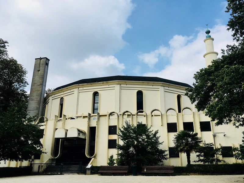 Masjid Raya Brussels, Belgia