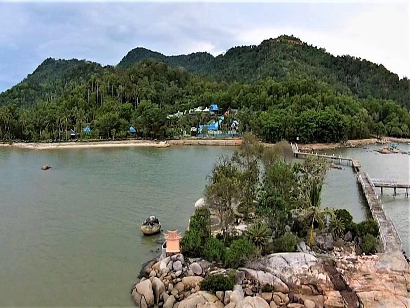 Keindahan Pulau Simping Pulau Terkecil Di Dunia Indonesia Traveler