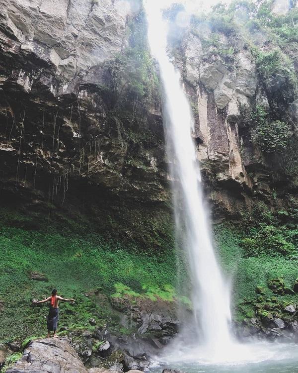 Air Terjun Putri Malu,Lampung