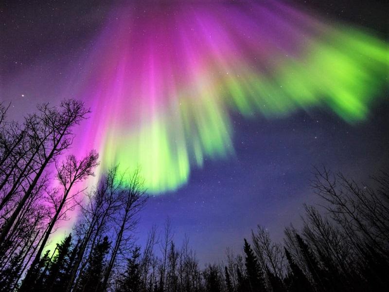 Aurora Borealis di Finlandia