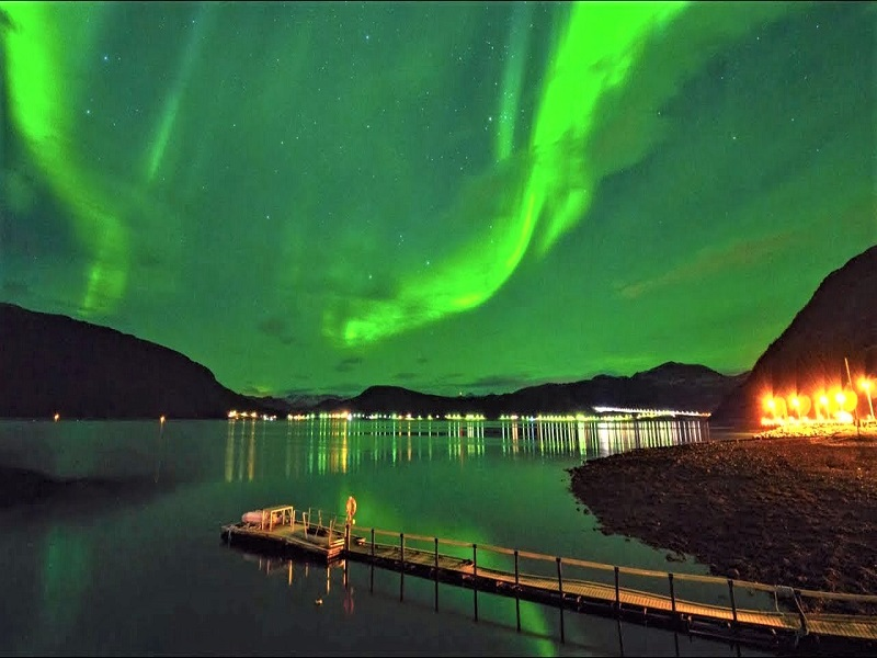 Aurora Borealis di Norwegia