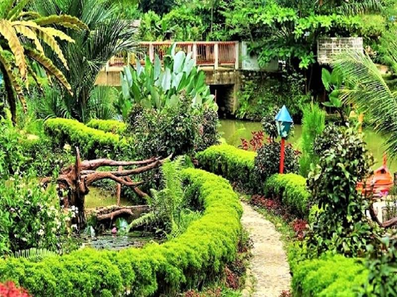 Medan, The Le Hu Garden
