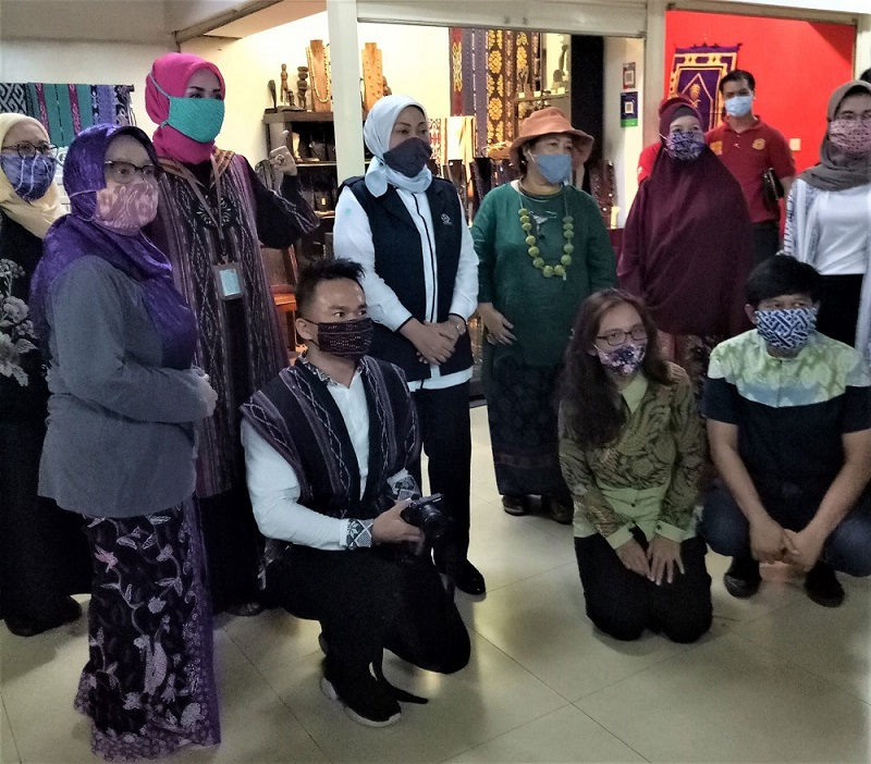 Beranda Nusantara, UKM bersama Ibu Menteri Ketenagakerjaan