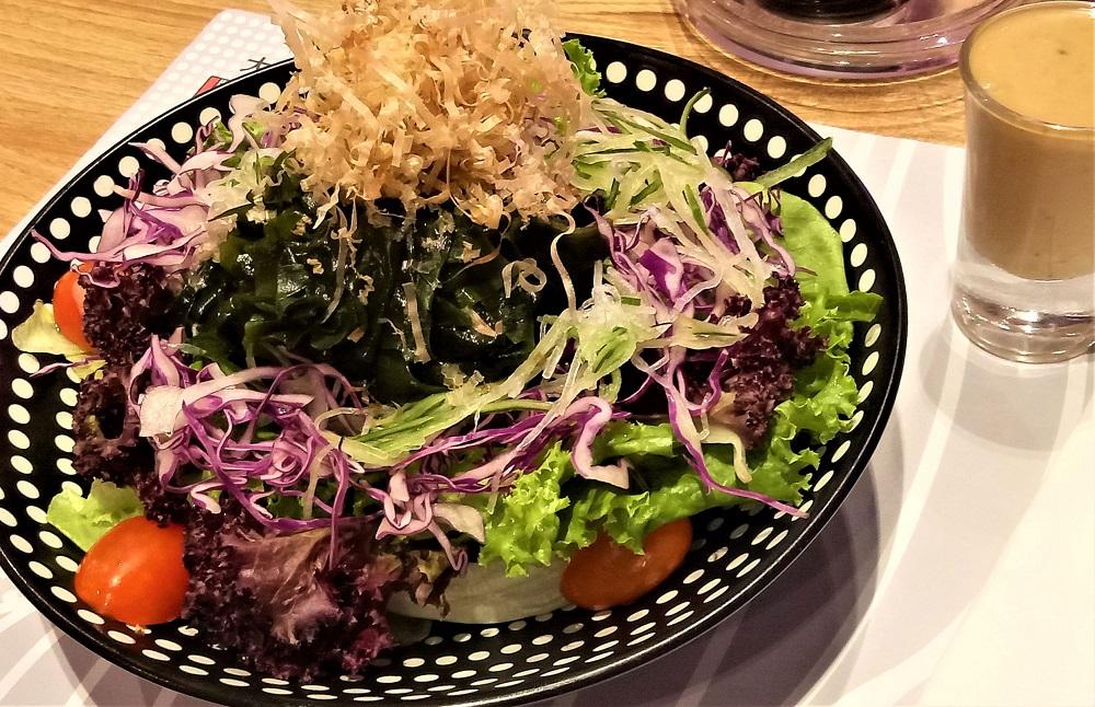 Daiginjo, Wakame Salad