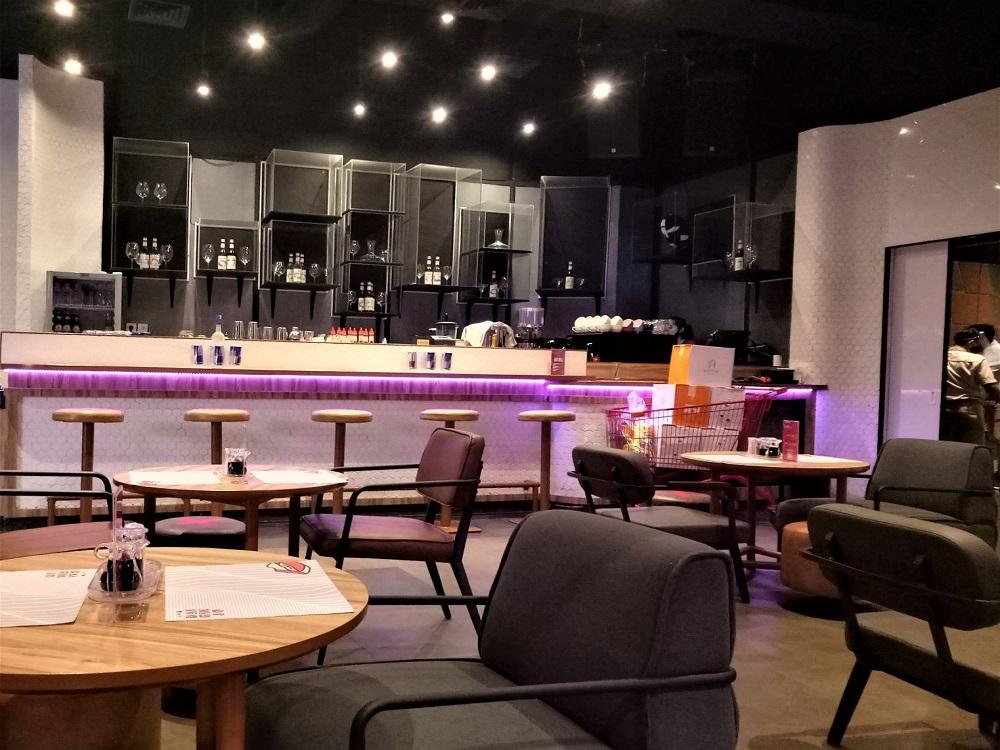 Daiginjo, ruang makan utama