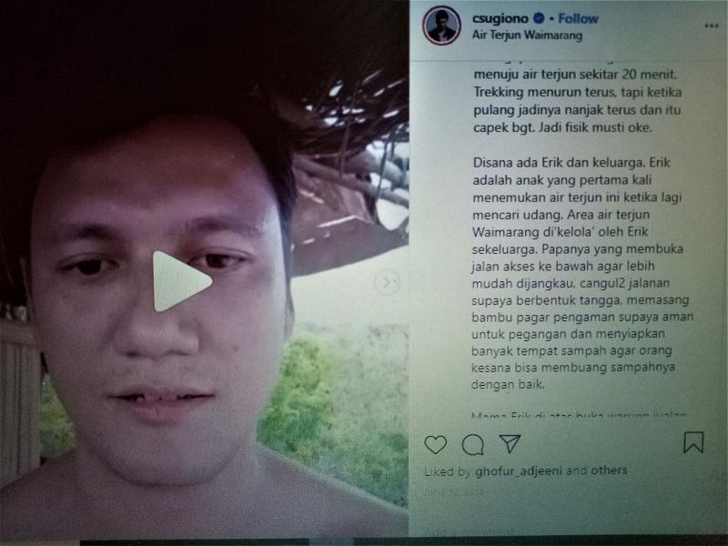 IG nya Christian Sugiono