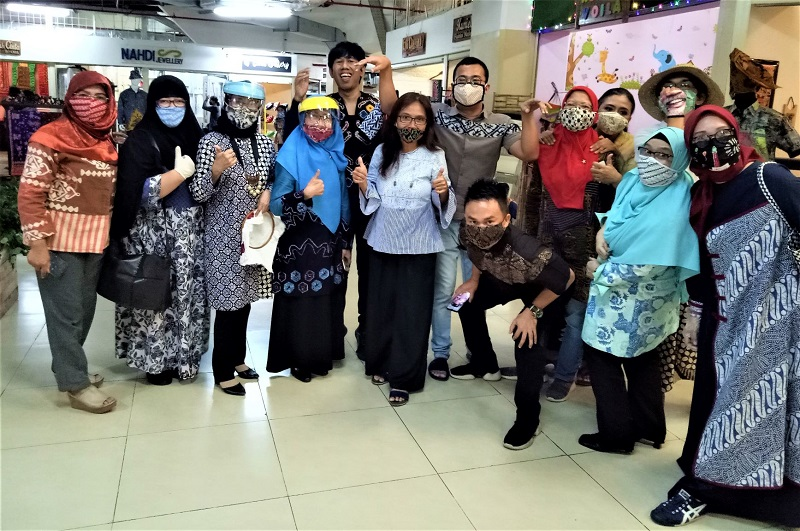 Para UKM pilihan di Beranda Nusantara