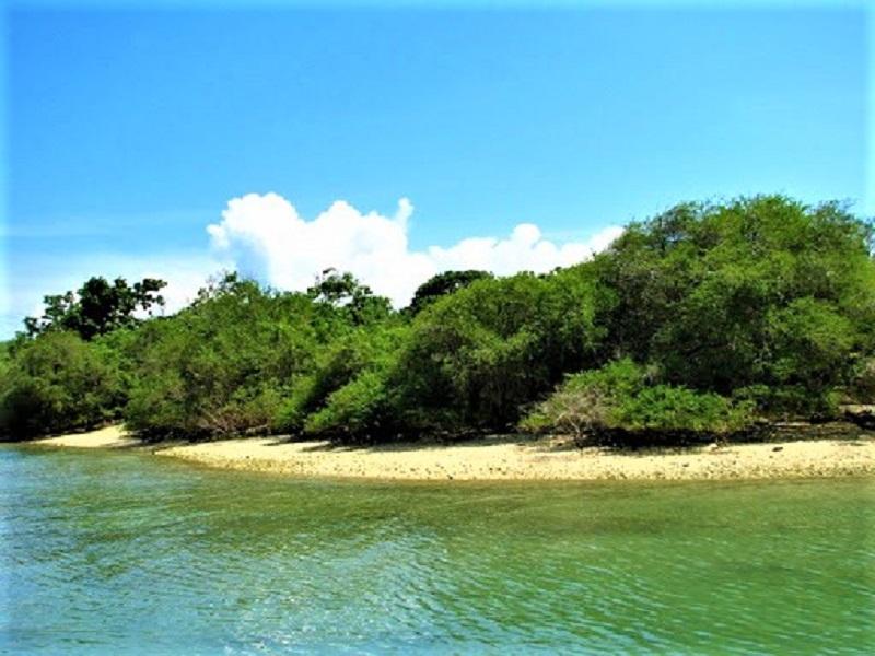 Ujung Kulon, Pulau Handeuleum