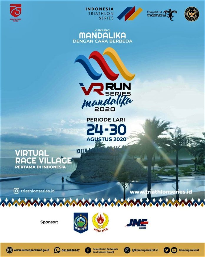VR Run Series Mandalika 2020