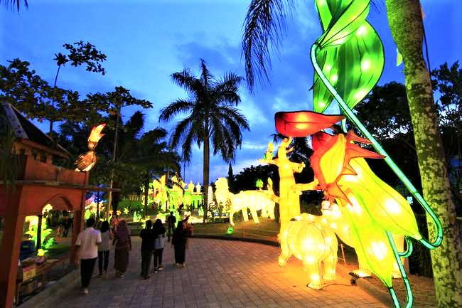 Taman Lampion Mahakam