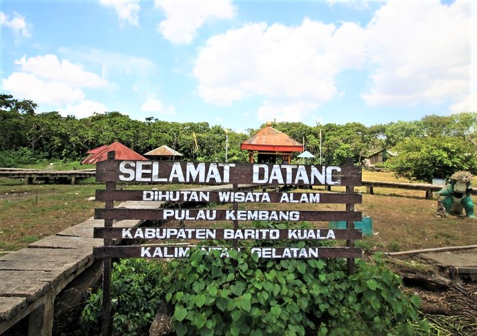 Pulau Kembang Banjarmasin