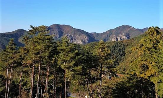 Hiking Korea Selatan