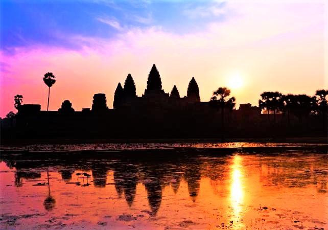 Angkor Wat Kamboja