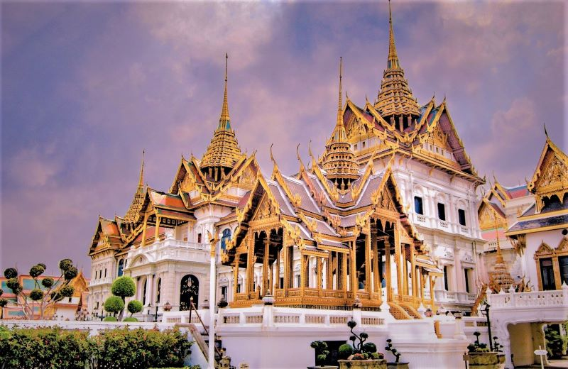 The Gran Palace di Thailand