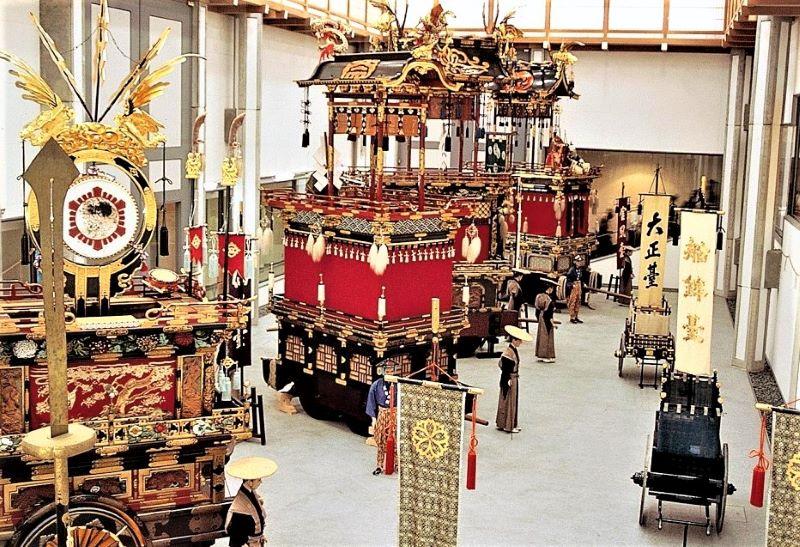 Wisata Takayama Festival Float Exhibition