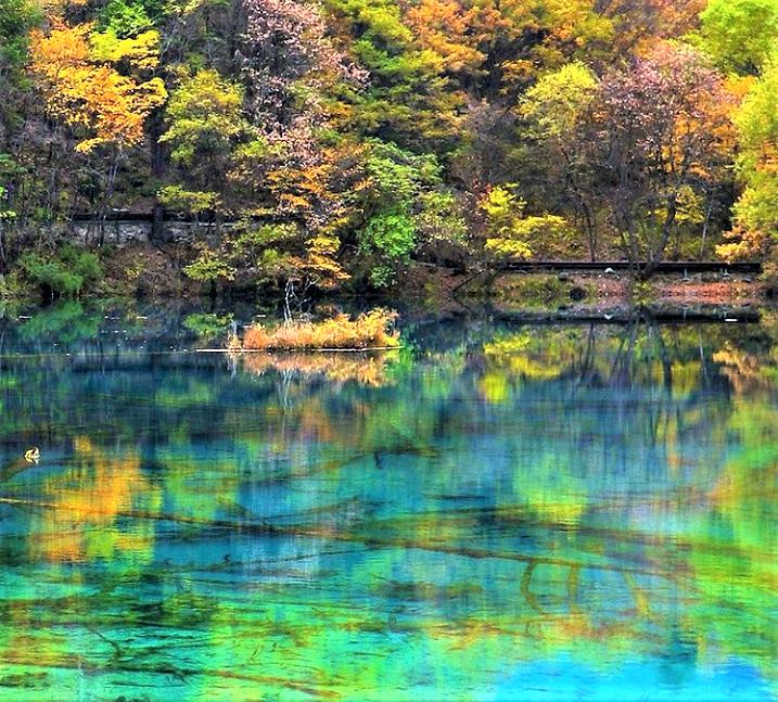 Crystalline Turquoise Lake