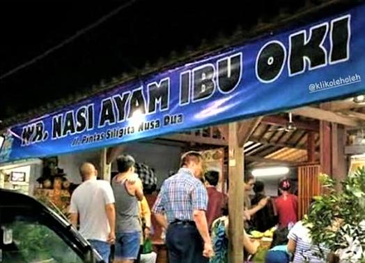 Warung Nasi Ayam Ibu Oki, Favorit di Bali