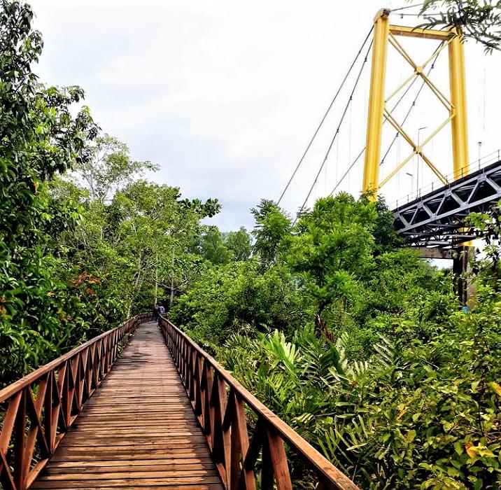 Mengenal Taman Wisata Alam Pulau Bakut, Banjarmasin