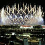 Jepang, New National Stadium-Pembukaan Olimpiade Tokyo 2020, Photo by Shuji Kajiyama-AP Photo