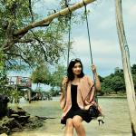Lampung, Pantai Dewi Mandapa, Photo by @friskayenie