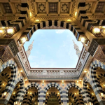 Madinah, Masjid Nabawi – Kubah terbuka
