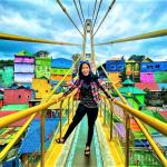 Malang, Kampung Warna Warni Malang, Photo by @chimelputri
