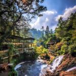 Bandung, Maribaya Natural Hot Spring, Photo by @indonesia_paradise