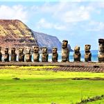 Chili, Moai di Pulau Paskah1