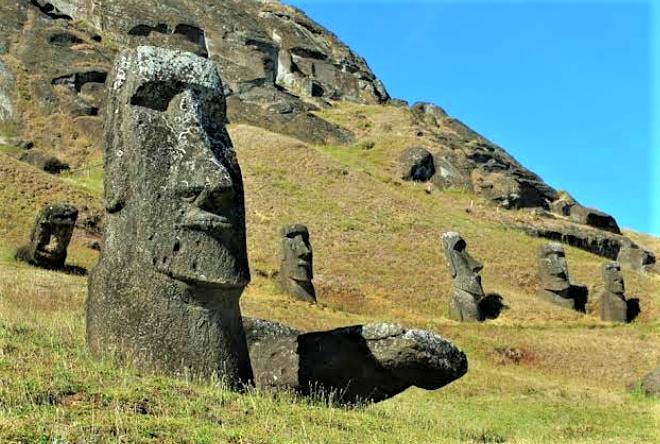 Misteri Moai di Pulau Paskah, Chili