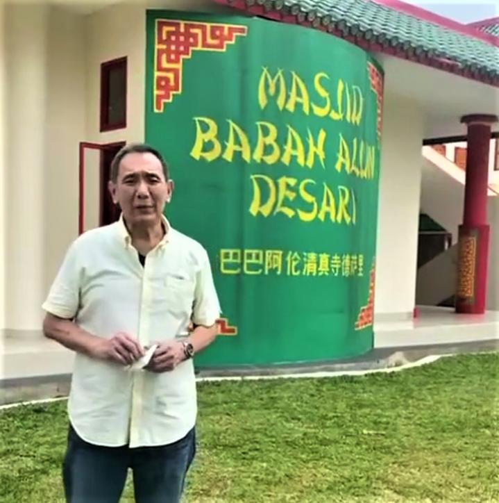Mengukir Takjub di Masjid Babah Alun