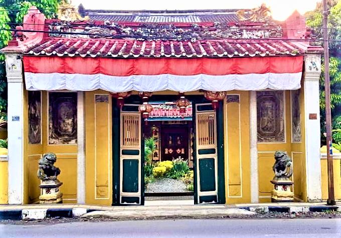 Menikmati Keunikan Tjong A Fie Mansion