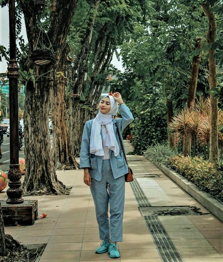 'Me Time' di Taman Bungkul, Taman Rekreasi Kebanggaan Kota Surabaya