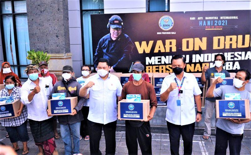 Golose Gencar Berikan Penguatan Program P4GN di Bali